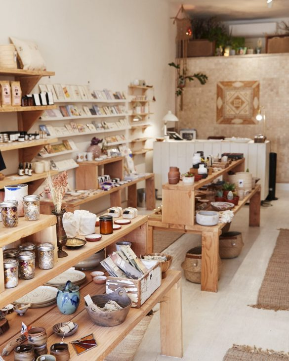 Interior Of Independent Gift And Fashion Store Without Customers